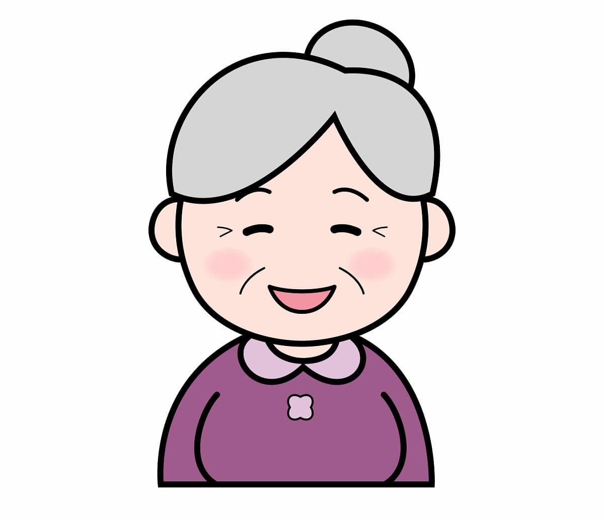 無料 おばあちゃんイラスト画像のまとめ かわいい無料イラスト イラストの描き方