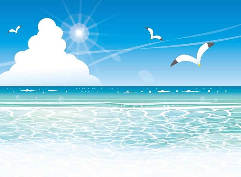 無料フリー夏休み海など夏イラスト素材満載 かわいい無料